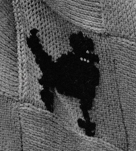 Poodle Cross Stitch Chart