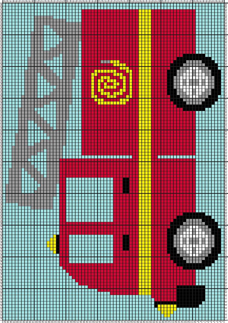 Fire Engine Truck Graphgan complete