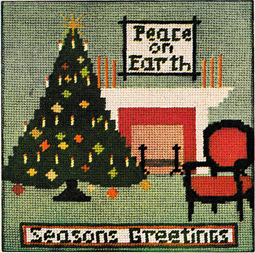 Peace on Earth Needlepoint Chart