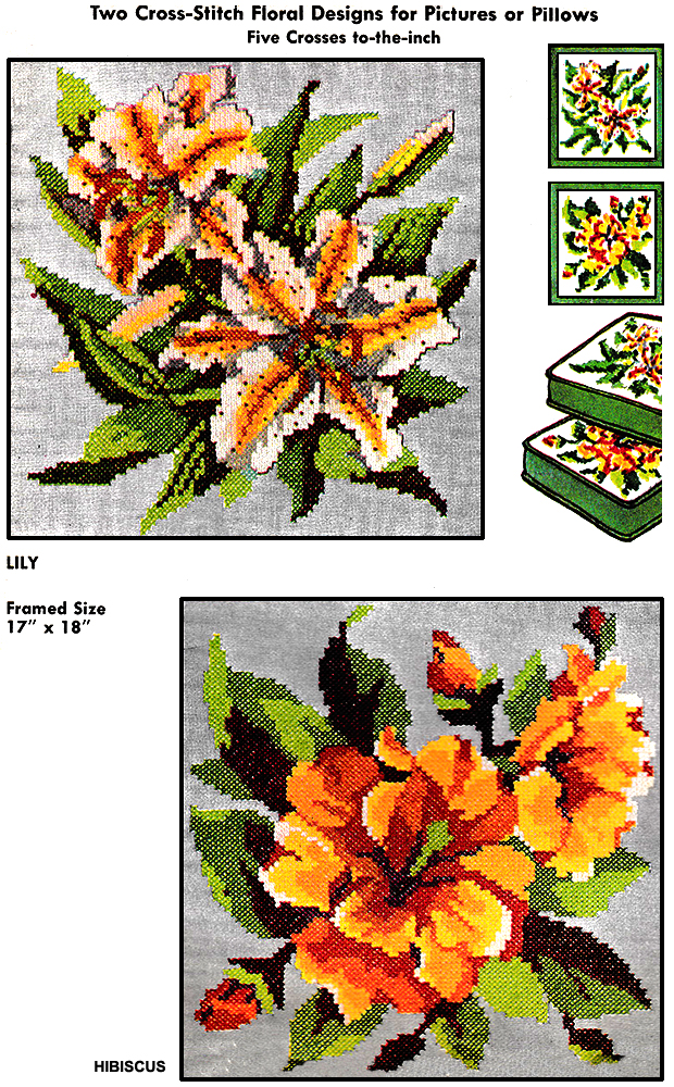 Lily and Hibiscus | McCall's No. 2454