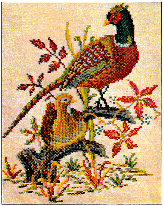The Pheasants | McCall's No. 1291