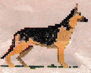 German Shepherd Pattern
