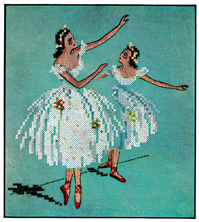Ballet in Cross-stitch | McCall's No. 1806