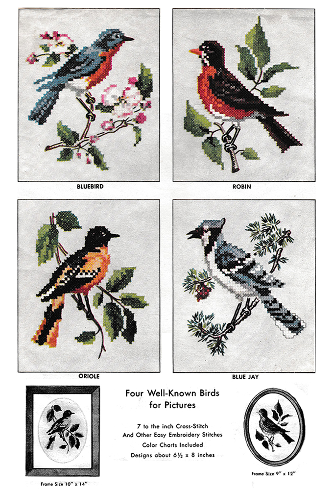 Well-Known Birds | McCall's No. 2035