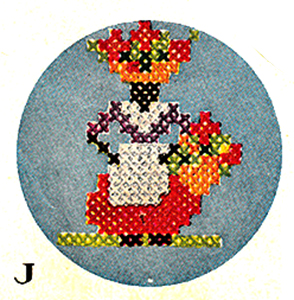 Flower Vendor Pattern