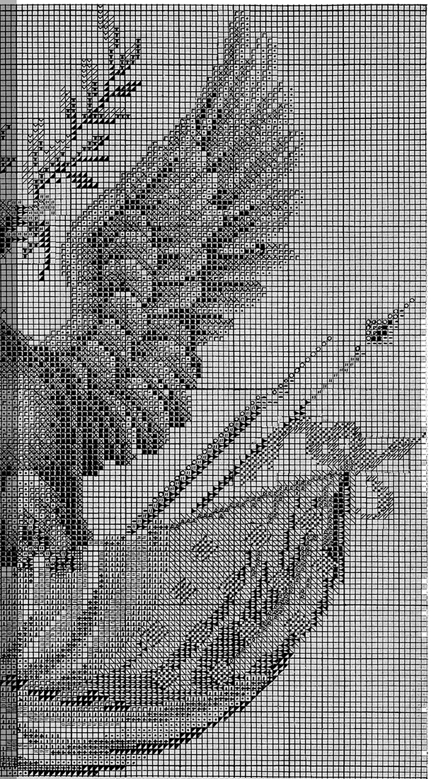Embroider an Eagle chart 2