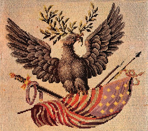 Embroider an Eagle