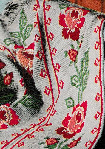 American Rose Cross Stitch Chart