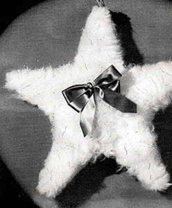 Fluff Star Ornament Pattern