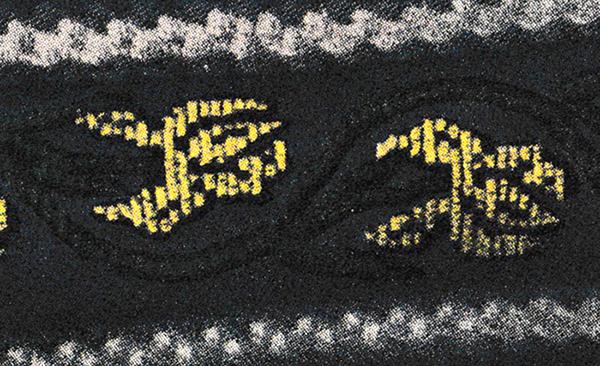 Fleur de Lis Cross Stitch Chart
