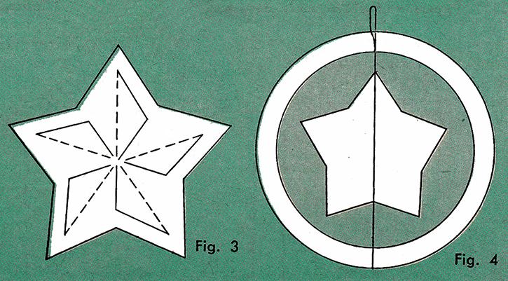 Pinwheel Star Wreath Pattern